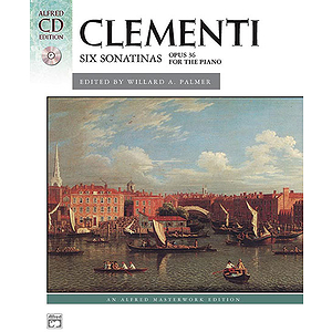 Clementi - Six Sonatinas, Op. 36 - Book & CD