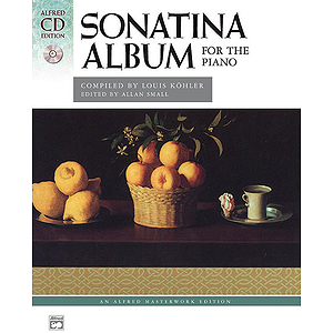 Sonatina Album (Compiled By Köhler) - Book & CD