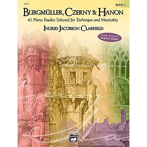 Burgmuller, Czerny and Hanon: Book 2