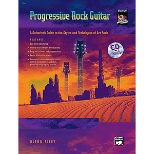 Progressive Rock Guitar - Book & CD