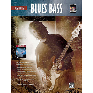 Beginning Blues Bass - Book & CD