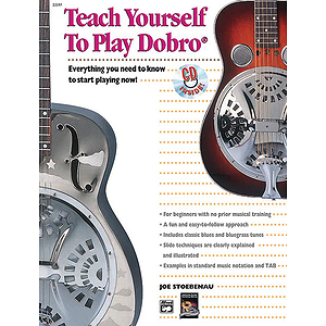 Alfred's Teach Yourself To Play Dobro! - Book & CD
