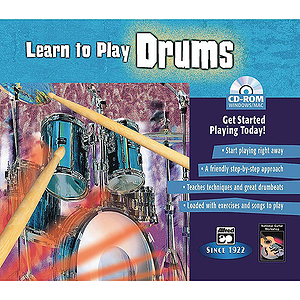 Learn To Play Drums (CD-ROM)