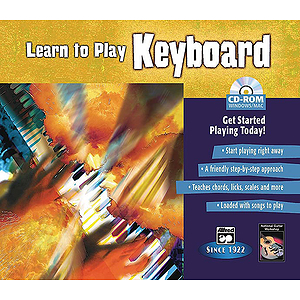 Learn To Play Keyboard (CD-Rom)