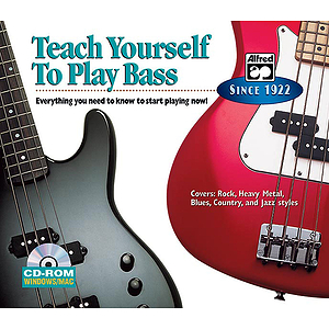 Alfred's Teach Yourself To Play Bass - CD-ROM