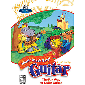 Music Made Easy: Guitar (CD-Rom, Win/Mac)