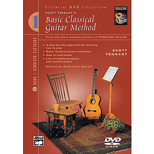 Basic Classical Guitar Method, Book 1 - DVD