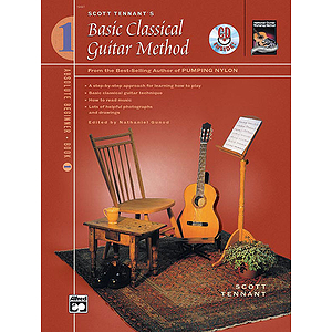 Basic Classical Guitar Method, Book 1 - Book &amp; DVD
