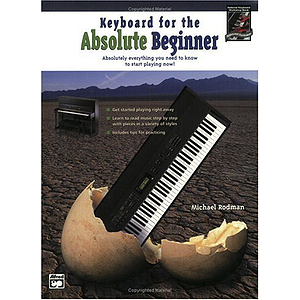 Keyboard for The Absolute Beginner - Book & DVD