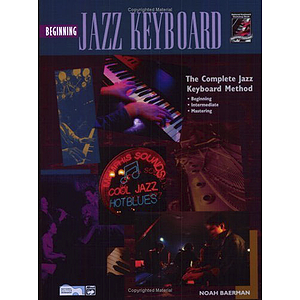 Beginning Jazz Keyboard - Book & DVD