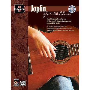 Basix Guitar Tab Classics: Joplin - Book & CD