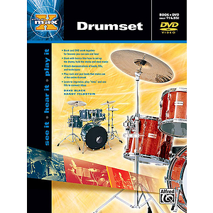 Alfred's Max Drumset - Book & DVD