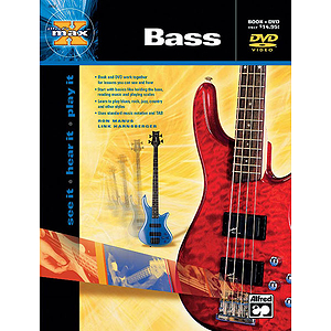 Alfred's Max Bass - Book & DVD