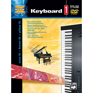 Alfred's Max! Keyboard 1 - Book & DVD