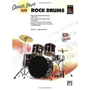 Quick Start Rock Drums - Book & CD