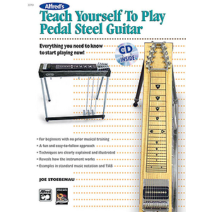 Alfred's Teach Yourself To Play Pedal Steel Guitar - Book & CD