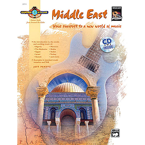 Guitar Atlas: Middle East - Book & CD