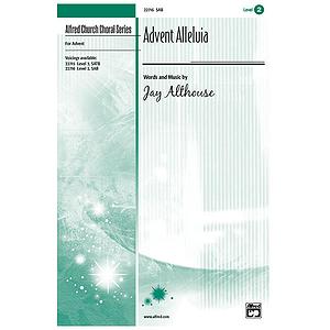 Advent Alleluia - SAB