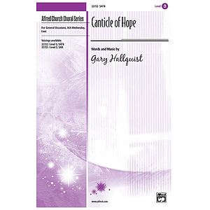 Canticle of Hope - SATB