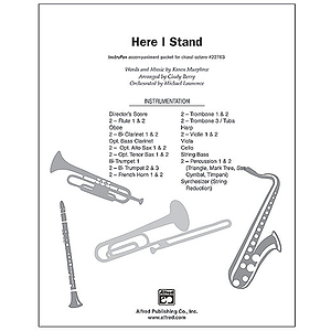 Here I Stand - InstruPax
