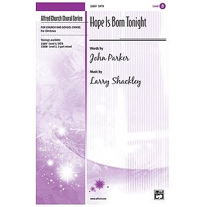 Hope Is Born Tonight - SATB