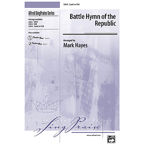 Battle Hymn of The Republic - 2-Part/SSA