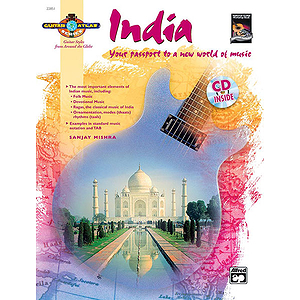 Guitar Atlas: India - Book & CD