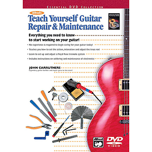 Teach Yourself Guitar Repair &amp; Maintenance - DVD