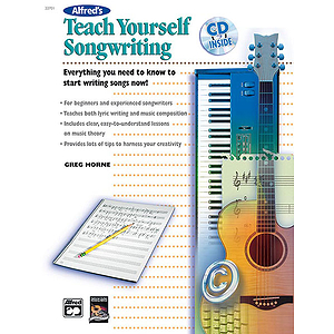 Teach Yourself Songwriting - Book & CD