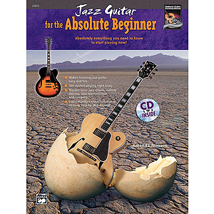 Jazz Guitar for The Absolute Beginner - Book & CD