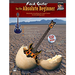 Rock Guitar for The Absolute Beginner - Book & CD