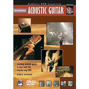 Beginning Acoustic Guitar - DVD