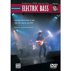 Beginning Electric Bass - DVD Only