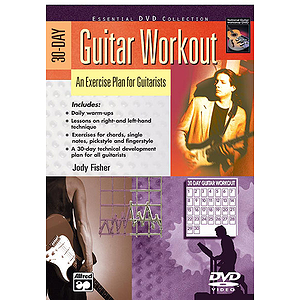 30-Day Guitar Workout - DVD