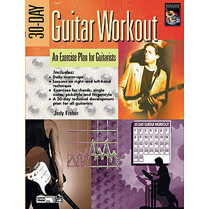 30-Day Guitar Workout - Book & DVD