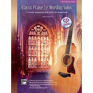Classic Praise and Worship Solos for Fingerstyle Guitar - Book & CD