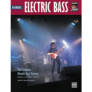 Beginning Electric Bass - Book & DVD