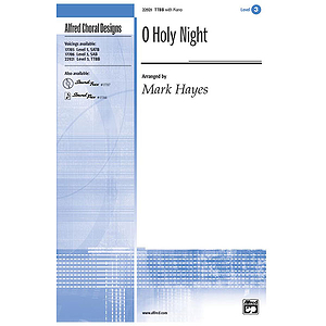 O Holy Night - TTBB