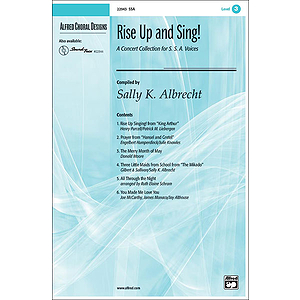 Rise Up and Sing: A Concert Collection for SSA Voices - SSA
