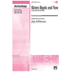 Waters Ripple and Flow - SATB