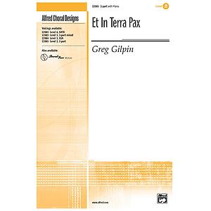Et in Terra Pax - 2-Part