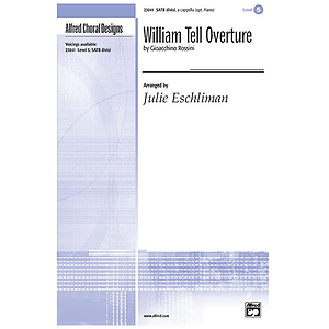 William Tell Overture - SATB, Divisi