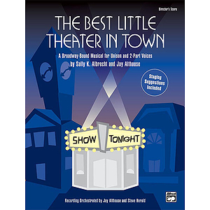 Best Little Theater in Town, the - Preview Pack (Singer&#039;s Edition/Listening CD)