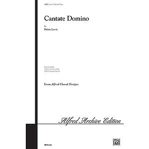 Cantate Domino - SAB