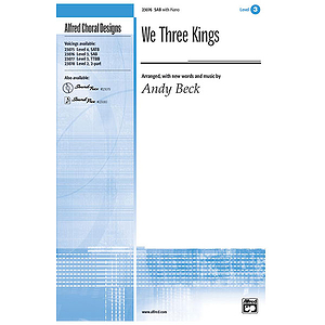 We Three Kings - SAB