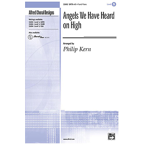 Angels We Have Heard on High - SATB