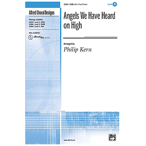 Angels We Have Heard on High - SSAB