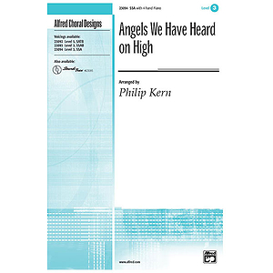 Angels We Have Heard on High - SSA