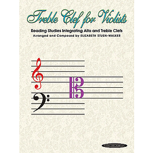 Treble Clef for Violists: Reading Studies Integrating Alto and Treble Clefs