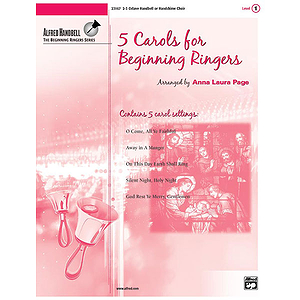 5 Carols for Beginning Ringers - 2-3 Octaves